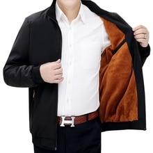 2019 Winter Jacket Men New Autumn Casual Solid Fashion Slim Thicken Mens windbreaker Jackets Coat MaleJacket 4XL 5XL