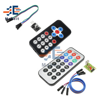 1 Set Infrared Remote Control Module HX1838 Wireless IR Receiver Module DIY Kit Smart Electronics for Arduino Raspberry Pi infrared ir wireless remote control module kits diy kit hx1838 module switch for arduino for raspberry pi