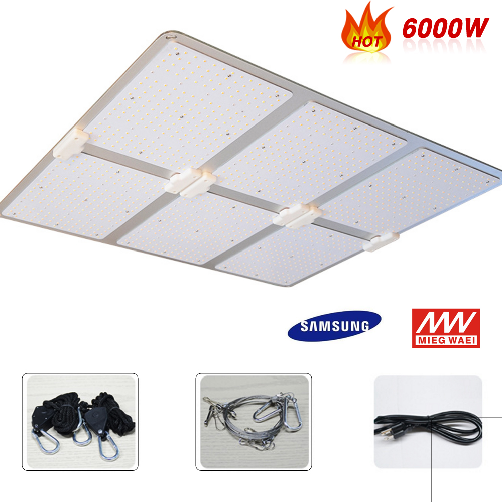 Samsung LM301B Quantum Led Light Aluminum Board Grow Lights 3000K 5000K Mix 660nm IR, For Indoor Veg And Flower Meanwell Driver
