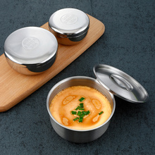 304-Stainless-Steel Bowl Steamed High-Temperature-Resistant 1 1PCS Children
