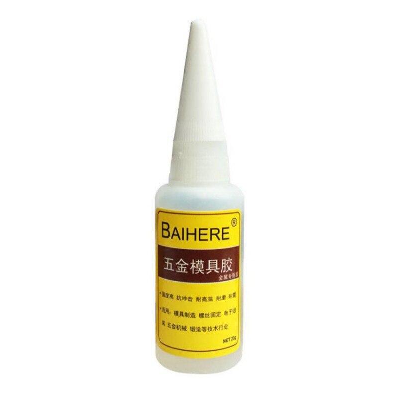 20g Degumming Middel Nagellak 502 5 tweede UV Dubbele Side Sticker Super Lijm Ontbinden Oplossing Verwijderen Clear Lijm