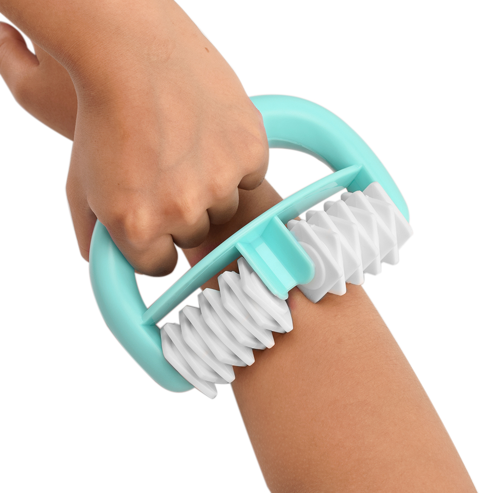 Handheld Full Body Massager Anti Cellulite Double Wheel Roller Massager Wheel Ball for Full Body Cellulite Health Care Tools