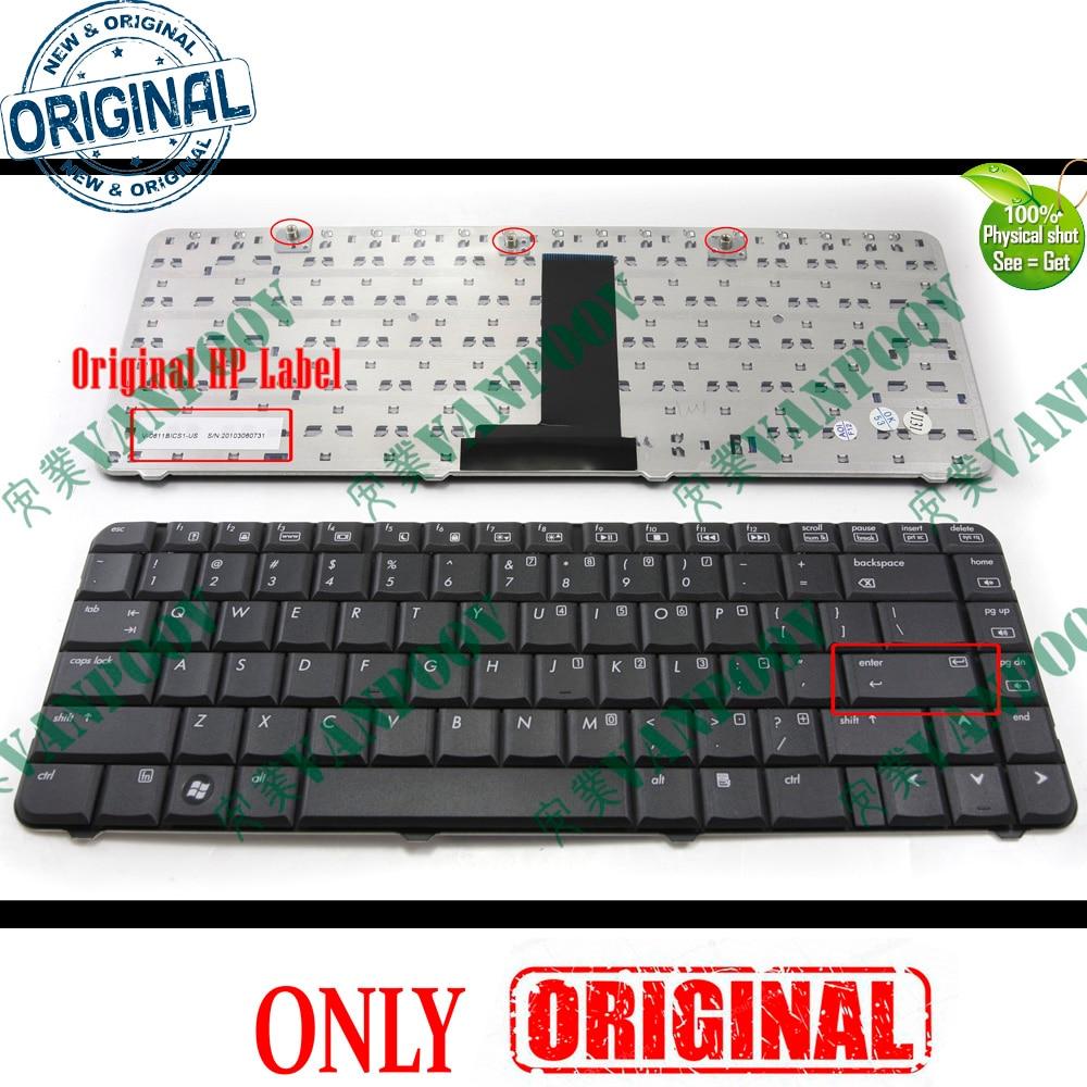 Тетрадь Клавиатура для ноутбука HP Compaq Presario CQ50 CQ50-100 CQ50-200 G50 Черный версия-486654-001 аккумулятор большой емкости