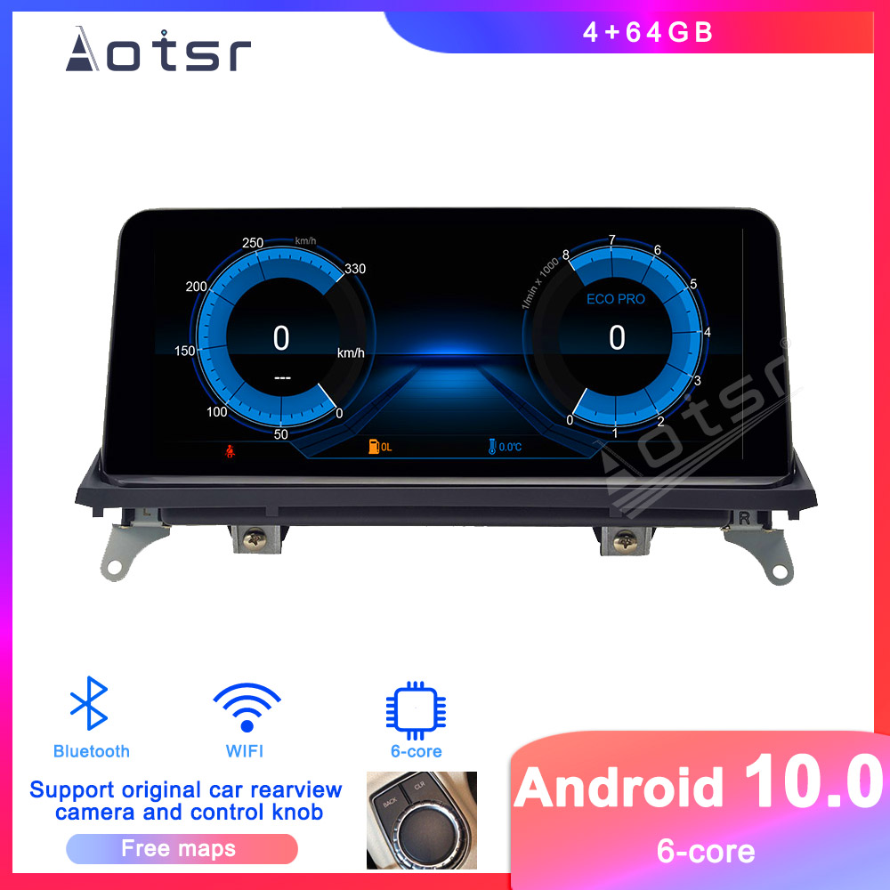 Android 9 Car DVD player GPS Navigation For BMW X5(E70)/X6(E71/E72) CCC/CIC System Auto Radio Stereo Player Multimedia HeadUnit