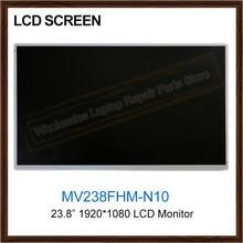 Nowy oryginalny 23.8 Cal Panel LCD MV238FHM-N10 MV238FHM N10 monitory LCD ekran wymiana wyświetlacza 1920*1080