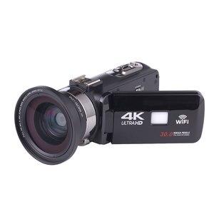 Image 4 - Full HD 4K Video Camera Wifi Handheld DV Professional Night Vision Anti Shake Digital Photo Camera Camcorder Flow Stabilizer