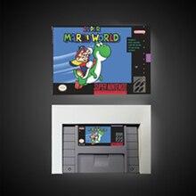 Super marioed mundo bateria de cartão de jogo rpg salvar nos versão caixa de varejo