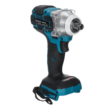 18V Brushless Impact Wrench 1/2 inch Cordless Electric Wrench Power Tool 520N.m High