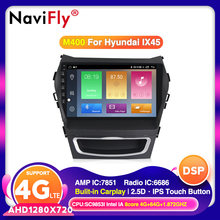 Navifly Voor Hyundai Santa Fe 3 2013-2016 Auto Radio Multimedia Video Player Navigatie Gps Android 10.0 Geen 2din 2 Din Dvd(China)