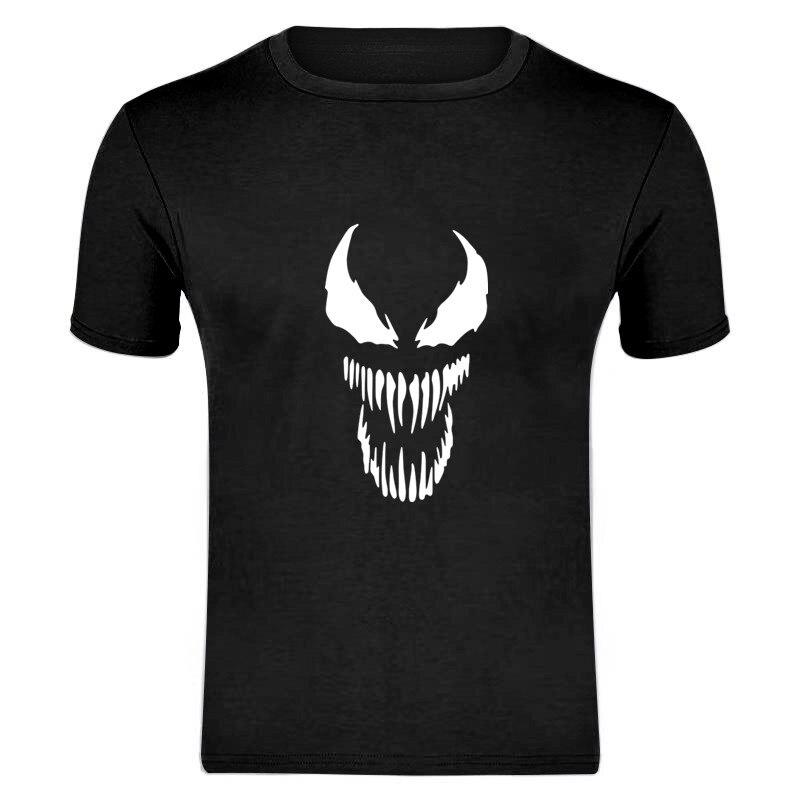 Venom Men's Funny T-Shirt T Shirt Men 2019 New Short Sleeve Cotton Novelty Top Tee Camisetas Hombre Asian Size S-XXXL