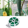 Portable 100M Roll Wire Twist Ties Green Garden Cable & Gardening Climbers Slicer Plant Support & Care Garden Supplies Hot Sale
