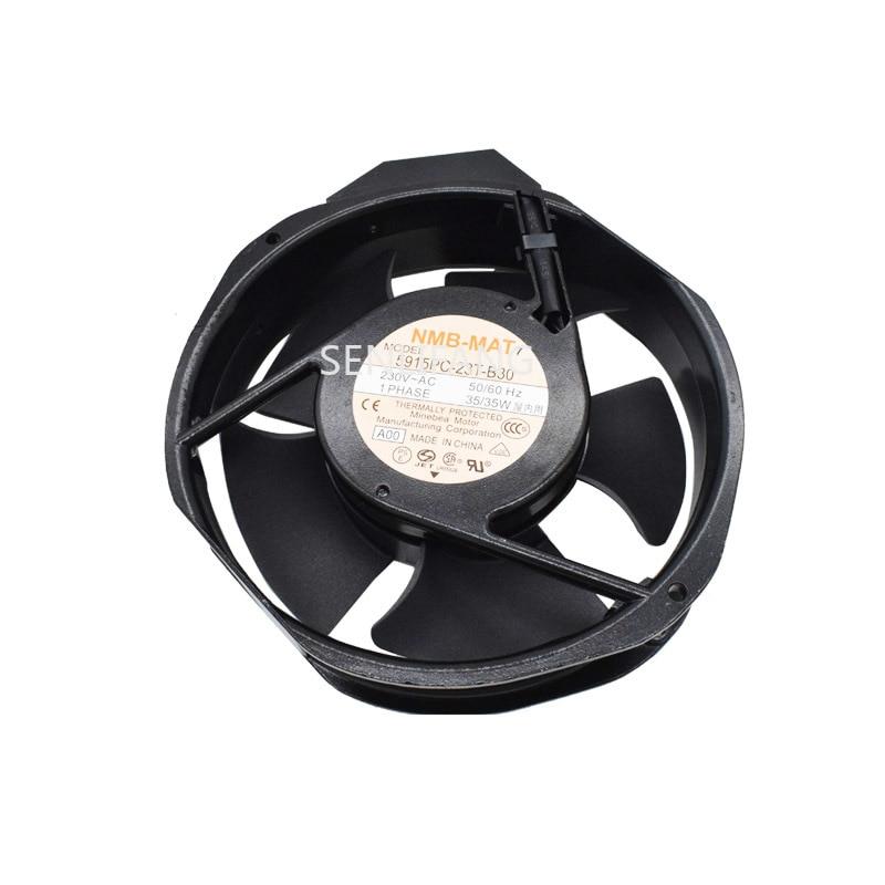 Free Shipping 5915PC-23T-B30 A00 AC 230V 35W 170x150x38mm Server Cooler Fan