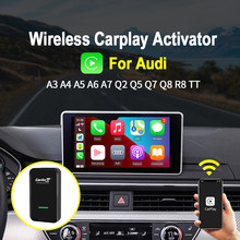 Carlinkit-activador inalámbrico de CarPlay para coche, activador de Plug And Play para Audi A3, A4, A5, A6, A7, A8 Original con CarPlay y cable a IOS 14