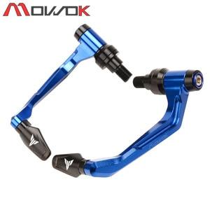 Image 4 - For YAMAHA MT07 MT09 MT 10 MT 125 MT 03 MT 01 XSR Handlebar Grips Brake Clutch Levers Guard Protector+Hand Grips Bar End Cap