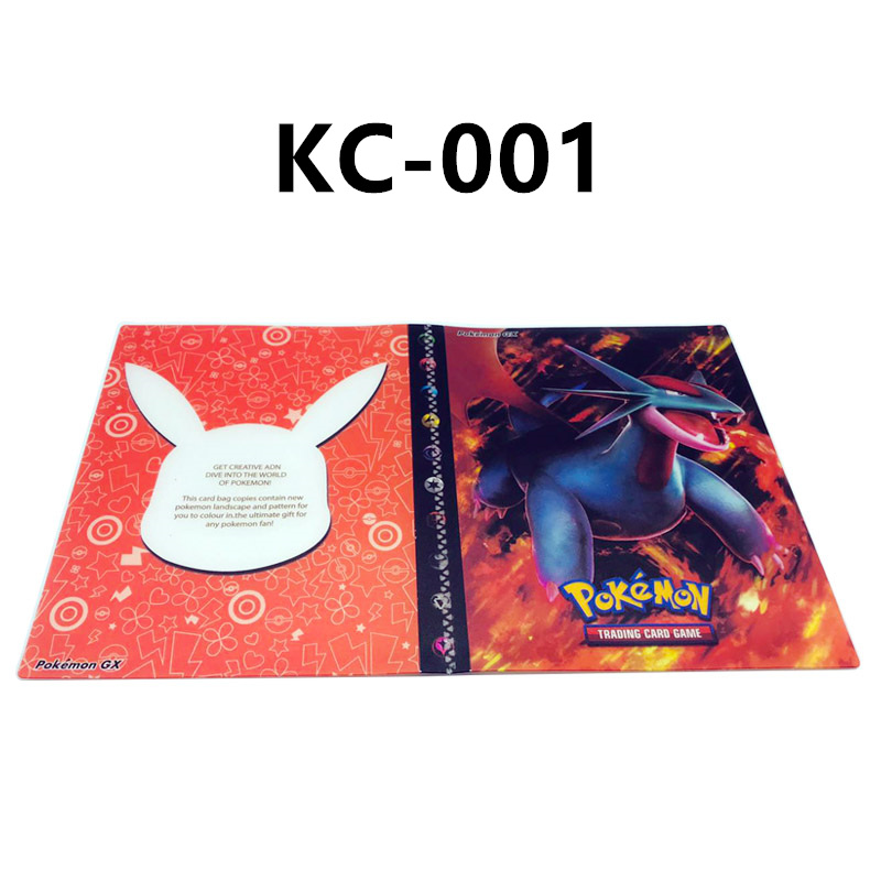 24 стиля Pokemon Cards альбом книга мультфильм аниме Карманный Монстр Пикачу 240 шт держатель альбомная игрушка для детей подарок - Цвет: KC-001