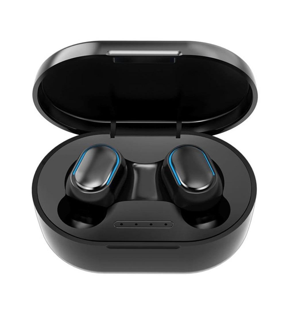 Gêmeos bluetooth fone de ouvido sem fio fone de ouvido dupla alta fidelidade fones de ouvido estéreo com microfone à prova dsem água sem fio