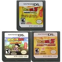 DS เกมคอนโซลการ์ด Dragon Bal Series ภาษาอังกฤษสำหรับ Nintendo DS 3DS 2DS