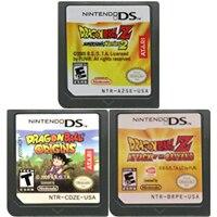DS cartouche de jeu Console carte Dragon Bal série langue anglaise pour Nintendo DS 3DS 2DS
