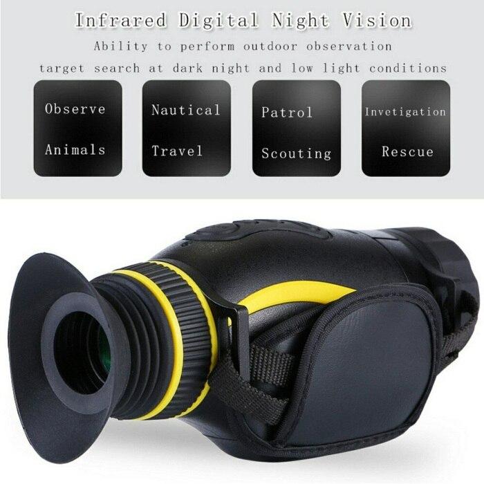 Ao ar livre infravermelho 4x visão noturna
