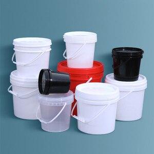 Image 5 - Trống 5L Xô Nhựa Có Tay Cầm Và Nắp Đậy Chống Rò Rỉ Chất Lỏng Khay Chứa BPA Nhựa PP Thùng Rỗ 2 Cái/lốc