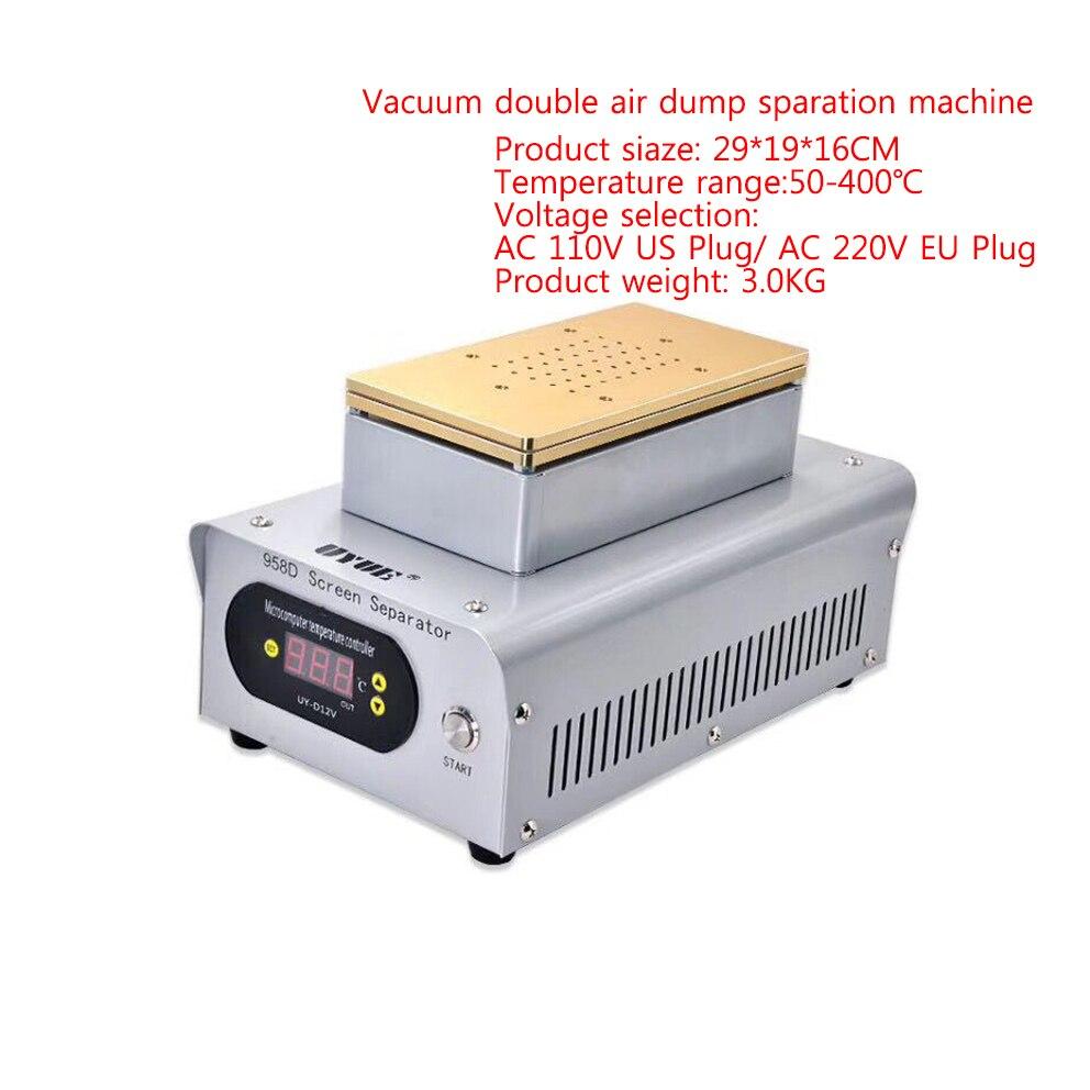 móvel dupla bomba sucção separador uyue 958d