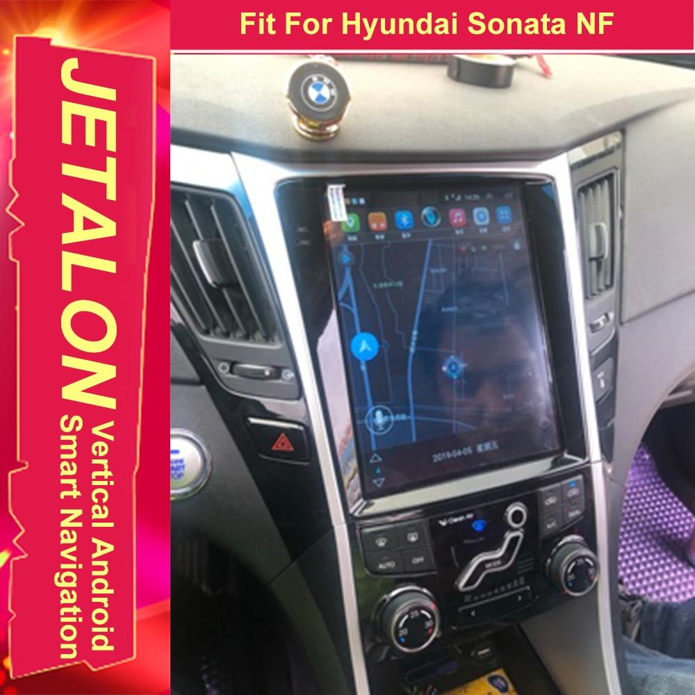 For Hyundai Sonata NF 2014 2013 2012 2011 Tesla Radio Android 9.0 Stereo GPS Car Multimedia Audio Player Navigation Head Unit
