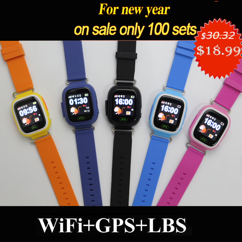 GPS <font><b>Q90</b></font> <font><b>kids</b></font> Children baby <font><b>Smart</b></font> baby <font><b>Watch</b></font> CLOCK SOS Call GPS WIFI Location Tracker <font><b>Kid</b></font> Safe Anti Lost Monitor <font><b>smart</b></font> <font><b>watch</b></font> image