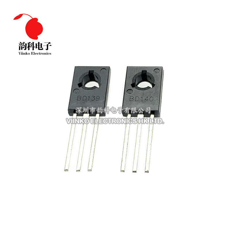 20 Pcs BD139 BD140 ( 10 Pcs BD139 + 10 Pcs BD140 ) TO126 To-126 Nieuwe Voltage Regulator Ic