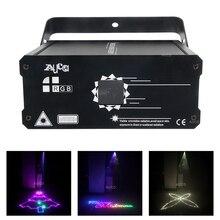 Efeito de música iluminação dmx rgb animação scanner laser natal luz do projetor dj disco festa feixe luzes luce 500mw/1w