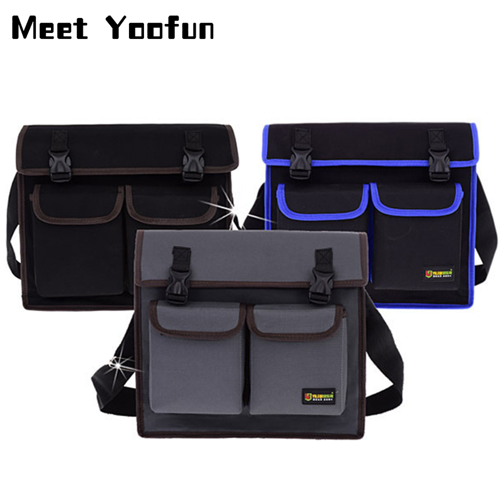 Multi Tool Tool Storage Shoulder Bag Waterproof Toolkit Wear Resistant Oxford Cloth Electrician Repair Backpack For The Tool