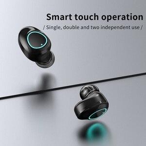 Image 4 - Tws g16 블루투스 이어폰 5.0 터치 컨트롤 blutooth 이어 버드 스테레오 소음 차단 헤드셋 led 디스플레이 충전 박스