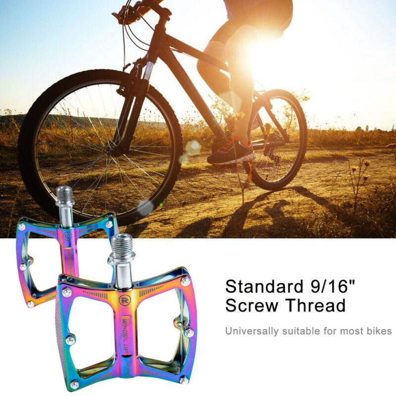 ENZO 3 Bearing Steel Flat-Platform Pedals MTB XC Road Mountain Bike Pedal Gray