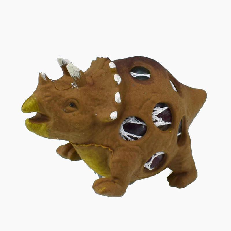 2020 דינוזאור דגם ענבים אוורור לסחוט לחץ כדורי הפגת מתחים כדור צעצוע חושי ילדי TPR צעצוע עבור אוטיזם