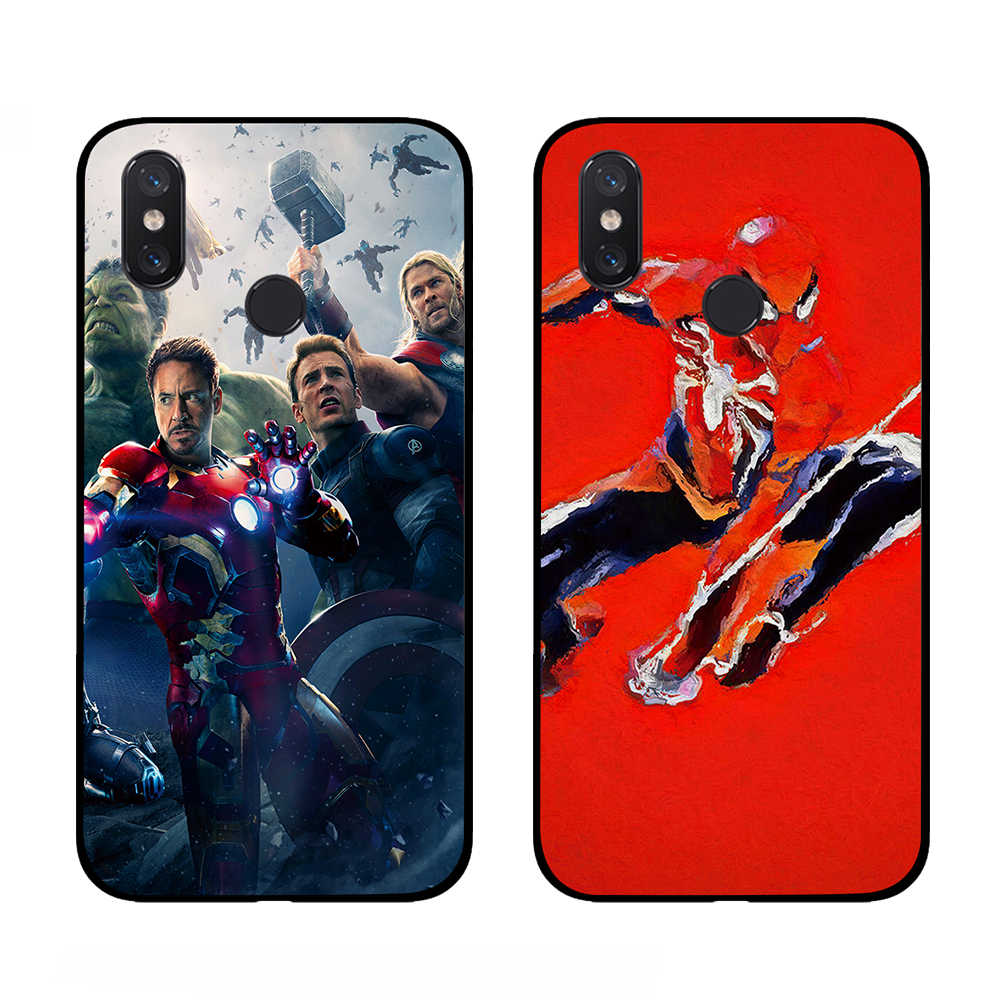 Deadpool antman ثور الأعجوبة TPU الهاتف حالات ل Xiaomi Redmi الذهاب 4 5 6 7 برو 4A 4X 5A 5 زائد 6A الغطاء الخلفي