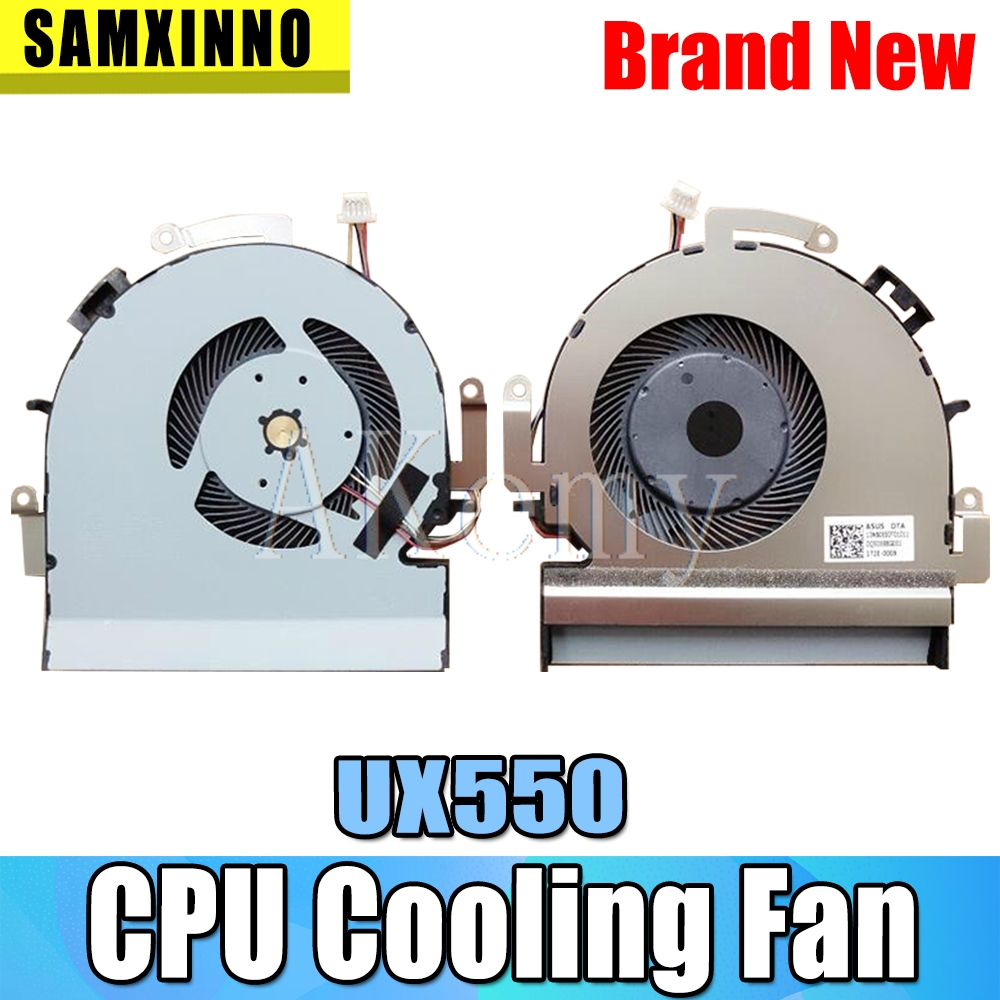 Laptop Cpu Fan For Asus ZenBook Pro UX550 UX550-CW NS85B13-16M09 Series Cpu Cooling Fan KSB0612HB