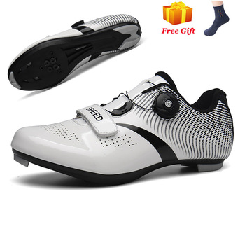 Professional Athletic Bicycle Shoes MTB Cycling Shoes Men Self-Locking Road Bike Shoes sapatilha ciclismo Women Cycling Sneakers 12