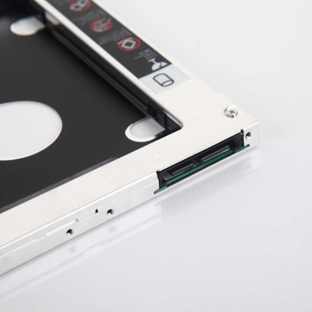 Adaptador Da Estrutura 2nd HDD SSD Hard Drive Óptico bay Caddy para Acer Aspire E15 E5-575G E5-574 E5-574G E5-774G E5-573 E5-573G e5-573T
