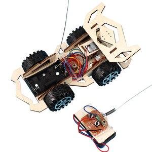 DIY RC Car Kids Toys Assembly