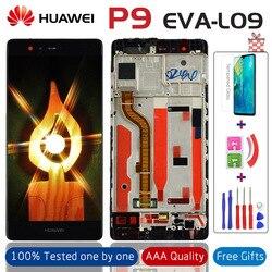 """5.2 """"jakość aaa LCD + rama dla HUAWEI P9 wyświetlacz Lcd ekran dotykowy dla HUAWEI P9 EVA L09 EVA L19 Digiziter montaż w Ekrany LCD do tel. komórkowych od Telefony komórkowe i telekomunikacja na"""