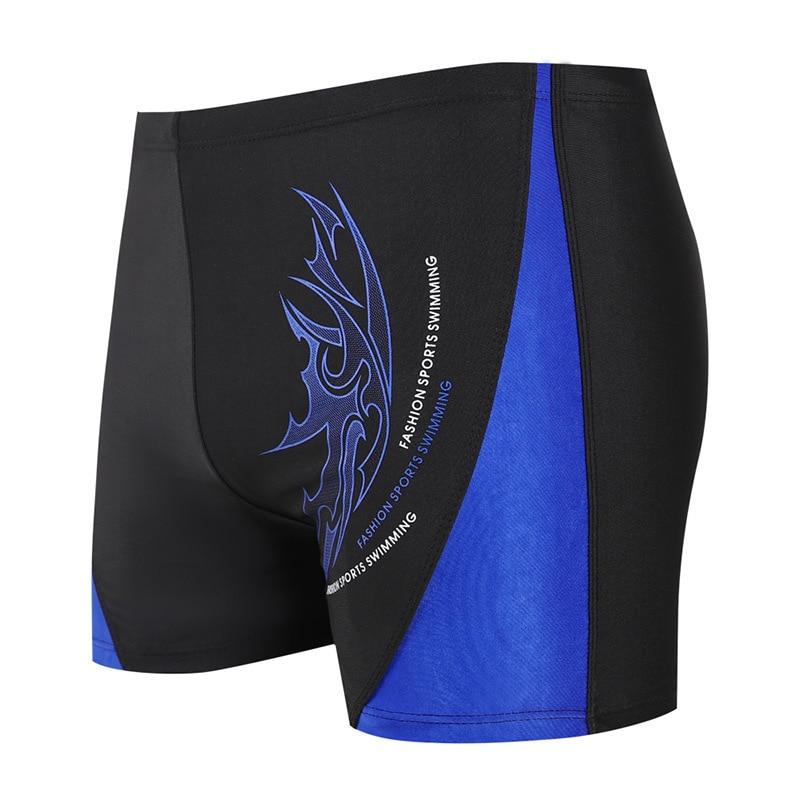 New Style Swimming Trunks Swimming Trunks Men Boxer Bathing Suit Men's Hot Springs Industry Quick-Dry Adult Swimming Trunks