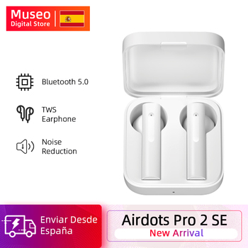 2020 Original Xiaomi Mi Air2 SE Wireless Bluetooth Earphone AirDots Pro 2 SE TWS Mi True Wireless Earbuds Touch Control SBC AAC