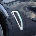 2 шт. ABS Хромированная Автомобильная боковая вентиляционная отделка для BMW X5 G05 2019 аксессуары