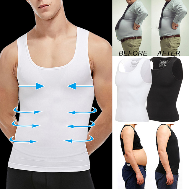 Men Shapers Belt Belly Men Slimming Vest Body Shaper Abdomen Fat Burning Waist Sweat Corset Weight Dropshipping Shapewear