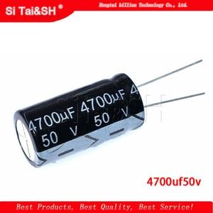 2PCS 50v4700uf 4700uf50v 18*35 50v 4700uf 18x35 Electro elektrolytkondensator