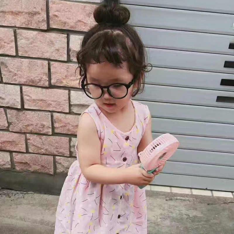 1pc śliczne dziewczynek włosy peruka moda realistyczne puszyste wielokolorowe krótkie Curl peruka syntetyczna osłona na włosy nakrycia głowy
