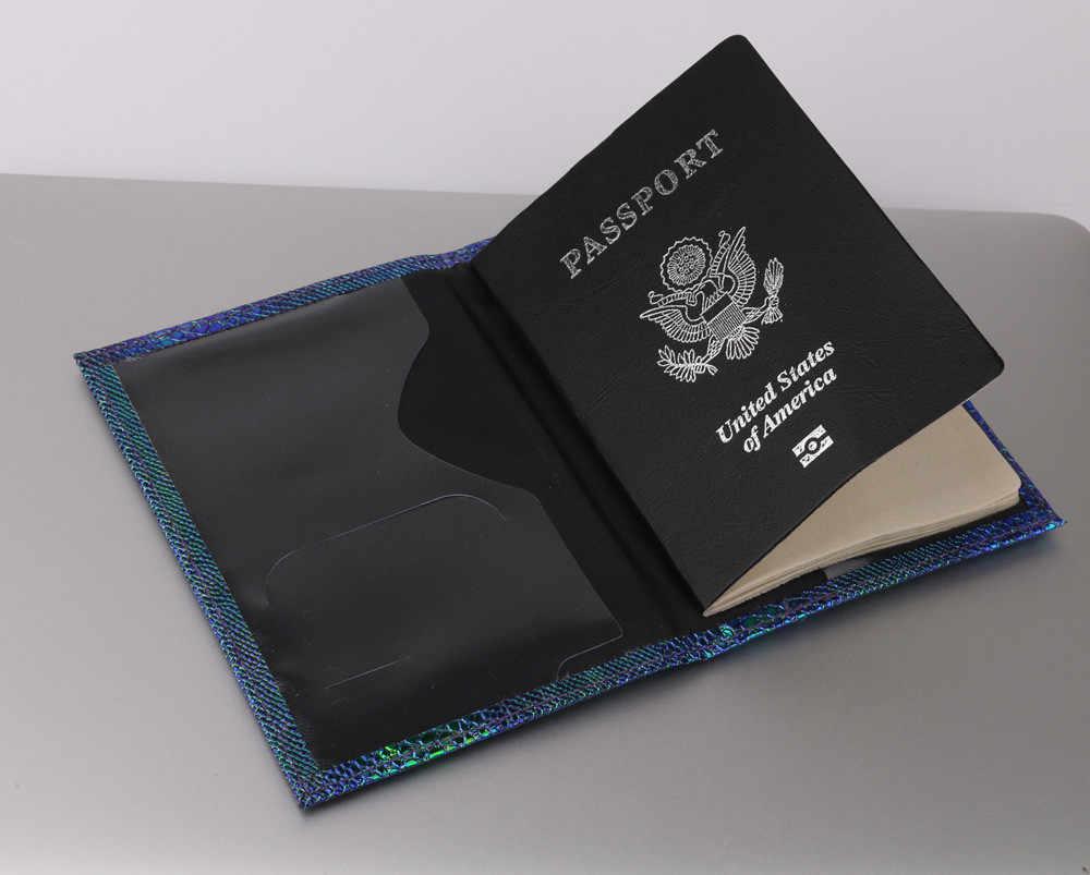 Lizard passeport protecteur porte-cartes carte de visite passeport couverture voyage hommes femmes portefeuilles doux carte de crédit porte-couvercle # C3J