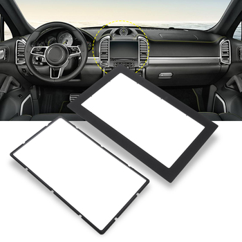2DIN Car Stereo Frame Auto CD/DVD Radio Fascia Panel Frame ABS Universal For Toyota Nissan Honda VW KIA Ford Etc Car Accessories image