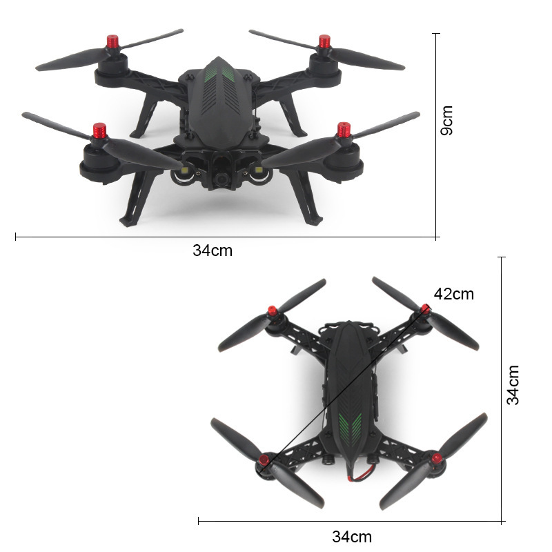Linda B6f Little Monster Through Machine 5.8G Image Transmission Aerial Photography Quadcopter Brushless Racing Unmanned Aerial