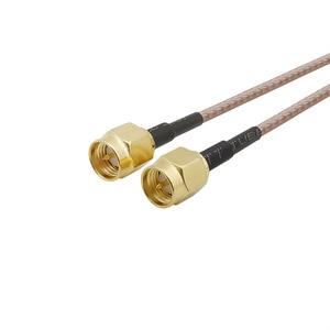 SMA штекер RG316 кабель SMA штекер прямой штекер SMA удлинитель коаксиального кабеля Перемычка Pigtail SMA разъем