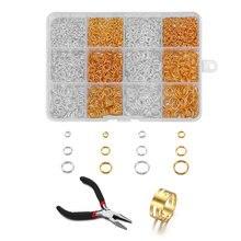 Металлические соединительные кольца раздельные плоскогубцы с